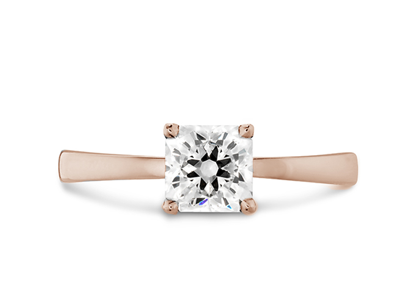 Hearts on Fire - Dream Signature Solitaire Engagement Ring