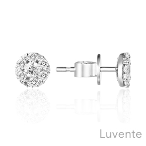 Luvente diamond stud earrings