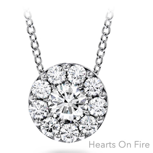 Hearts on Fire Diamond Pendent Necklace